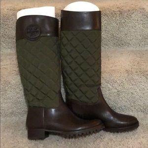 NEW Tory Burch riding boot sz 8